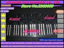 Aoweziic 2019 + 100% novo importado original fqpf13n50c 13n50 TO 220F mos fet 500 v 13a