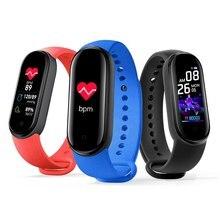 Relógio inteligente banda masculina mulher freqüência cardíaca pressão arterial monitor de sono pedômetro conexão bluetooth esporte relógio