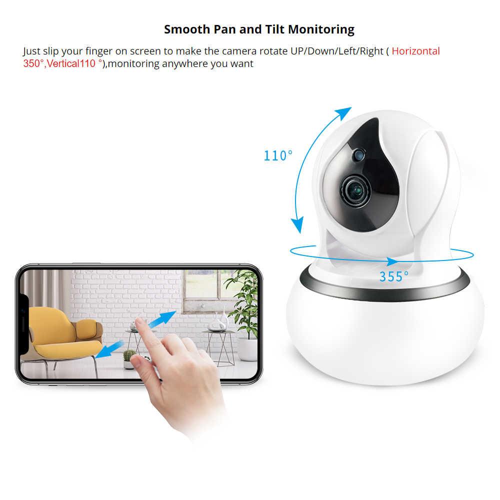 1080P 720P Rumah Keamanan Kamera Ip Dua Cara Audio Nirkabel Jaringan Mini Kamera Malam Visi CCTV Kamera Wifi baby Monitor Yoosee