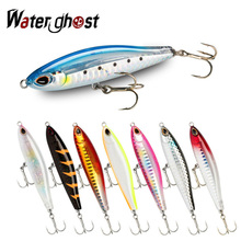 NEW Pencil Lure 8cm 18g Fishing Lures Hard Bait Minnow Ice Fish Japan Fishing Goods Whopper Swimbait Winter Pesca Bass+ 1pcs lure for fishing metal pencil 8cm 13 6g jigging wobblers winter fishing all goods for fish lures artificial bait luminous