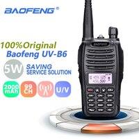 Baofeng UV B6 Walkie Talkie 5w 2000mAh UHF & VHF Cb Radio Range UV B6 Digital Amateur UVB6 Radio Stations Transceiver Retevis