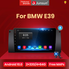 Junsun V1 Android 10,0 AI Voice Control-Auto Radio Multimidia Video Player GPS Für BMW E39 keine 2 din 2din dvd autoradio