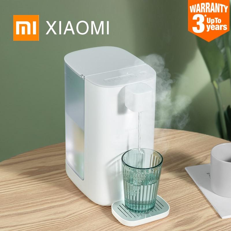 Диспенсер для воды XIAOMI MIJIA XINXIANG, портативный нагреватель воды, 3 л, мгновенный нагревательный водяной насос, безопасный материал, 4 режима, Бл...