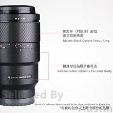 Protector de película para Sony FE 90mm F2.8, pegatina antiarañazos para Macro