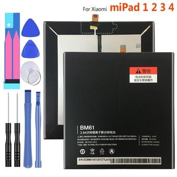 6600mAh BM60 BM61 BM62 BN60 Battery For Xiaomi miPad 1 2 3 4 miPad MEC91 Bateria mi Tab 1 2 3 4 +Tracking Number