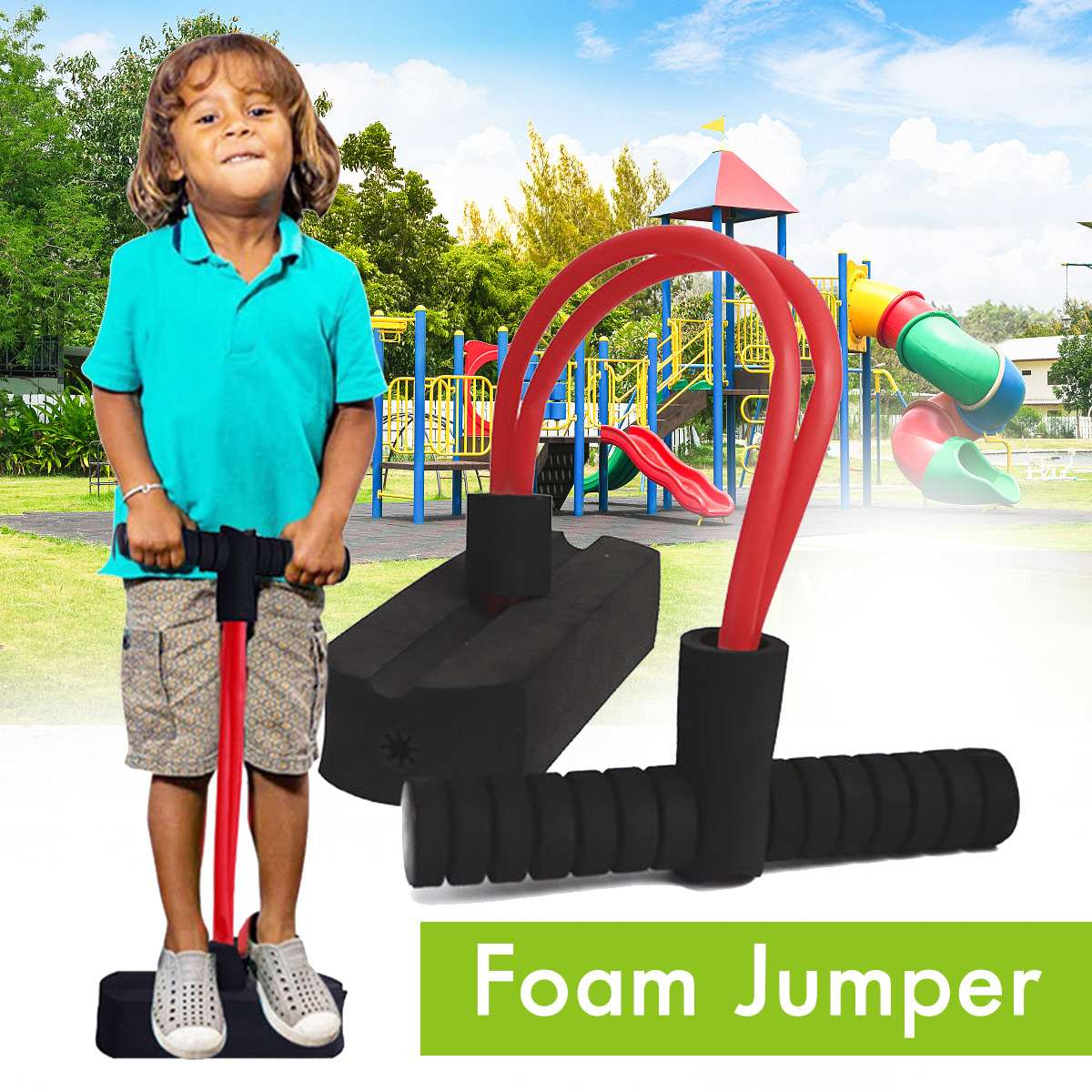 Kangaroo Jumping Vara de Pogo Jumper de Espuma Espuma Vara Fora Esporte Brinquedos Ao Ar Livre Indoor Games For Kids Crianças Equipamentos de Fitness