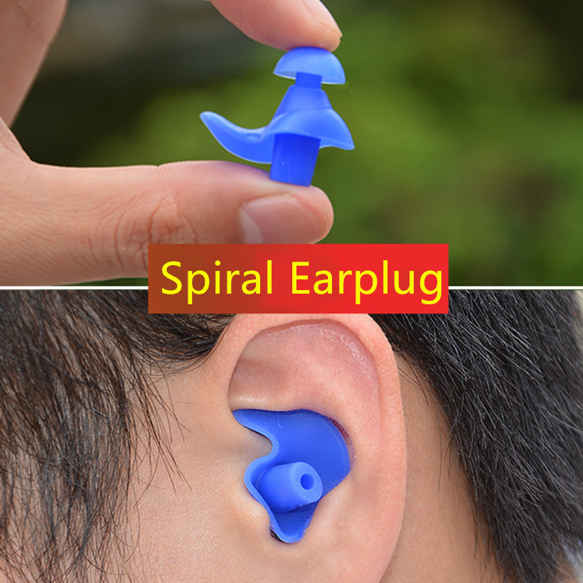 Soft-Ear-Plugs Swimming-Accessories Water-Sports Silicone 1-Pair Diving Environmental