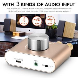 Image 4 - Nobsound mini amplificador bluetooth 2020 tpa3116, amplificador digital, hifi stereo, sem fios, receptor de áudio para carro, 5.0