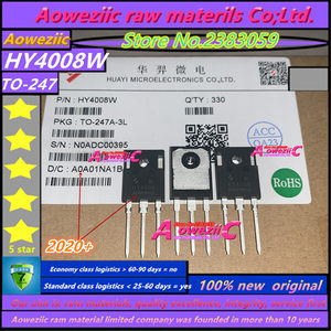 Image 4 - Aoweziic 2020 + 20 шт. 100% Новый оригинальный HY4008 HY4008W 80V 200A TO 247 МОП инвертор Ultra 80V 200A
