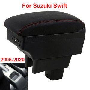 For Suzuki Swift Armrest box 2011 2014 2017 2018 2005-2019 Car armrest box car accessories interior storage box Retrofit parts