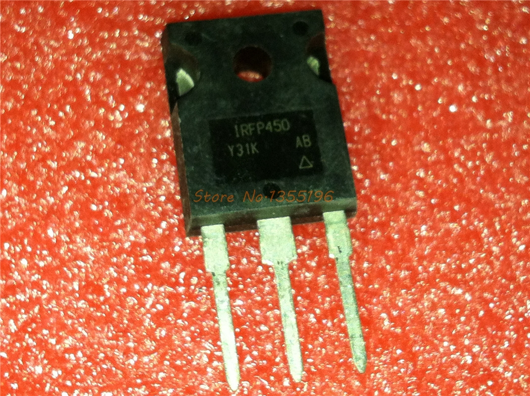 10pcs/lot IRFP450 IRFP450PBF TO-247 In Stock