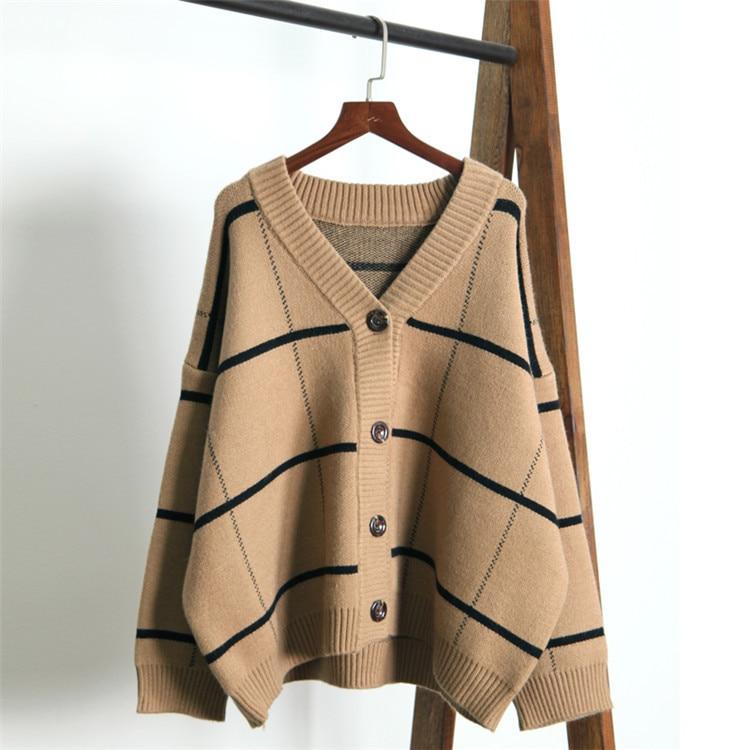 2020 Women Poncho Long Sleeve Loose Knitted Batwing Sleeve Sweater Coat Women Cardigans Sweater Jumper Cape Casaco Feminino