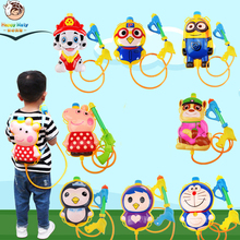 Children Water Gun Toys Cute Animals Backpack Beach Squirt Toy Pistol Spray Outdoor Gift