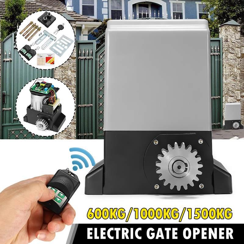 370W/550W/750W AC220V Auto Electric Remote Control Sliding Door Machine Flat Door Motor Villa Electric Door Electric Gate Opener