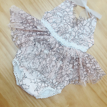 Lovely Newborn Toddler Infant Baby Girl Rompers Summer Sleeveless Backless Lace Jumpsuit Romper Baby Girls Clothes Sunsuit 0002