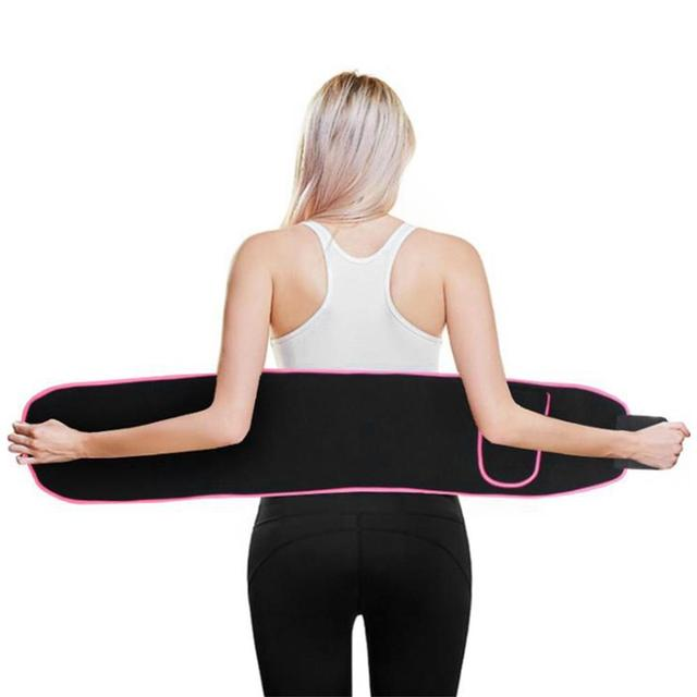 Waist Trimmer Belt Weight Loss Sweat Band Wrap Fat Tummy Stomach Sauna Sweat Belt Sport Safe Accessories 4