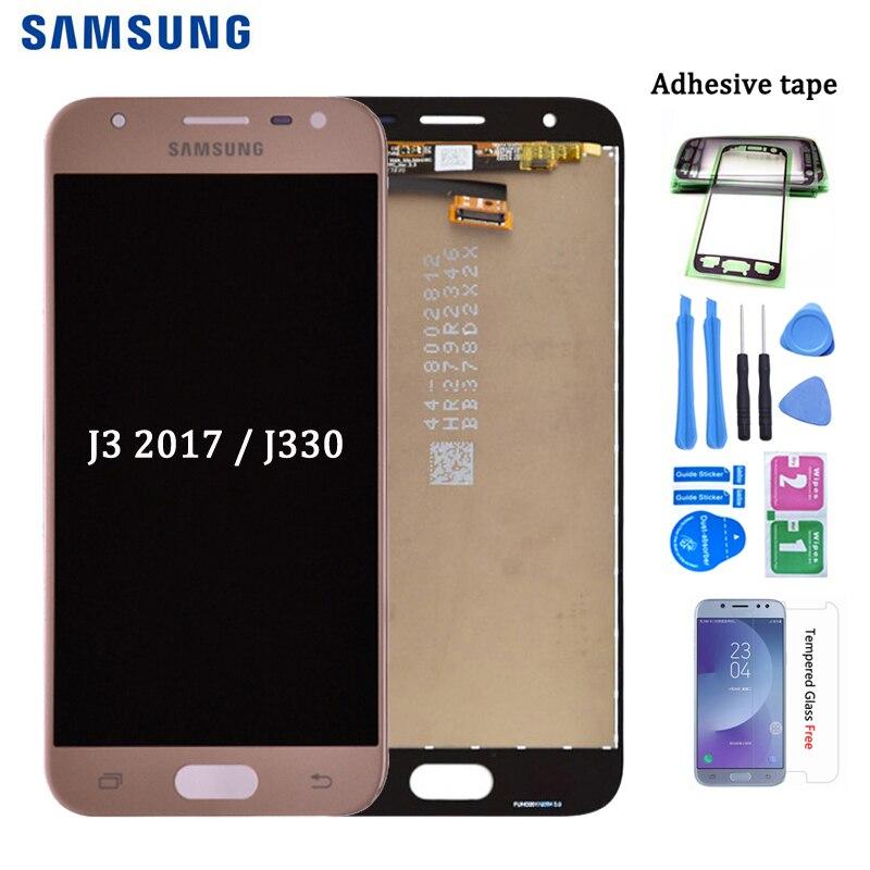 Original J330 Lcd For Samsung Galaxy J3 2017 J330 J330F J330G LCD Display And Touch Screen Digitizer Assembly J3 Pro 2017
