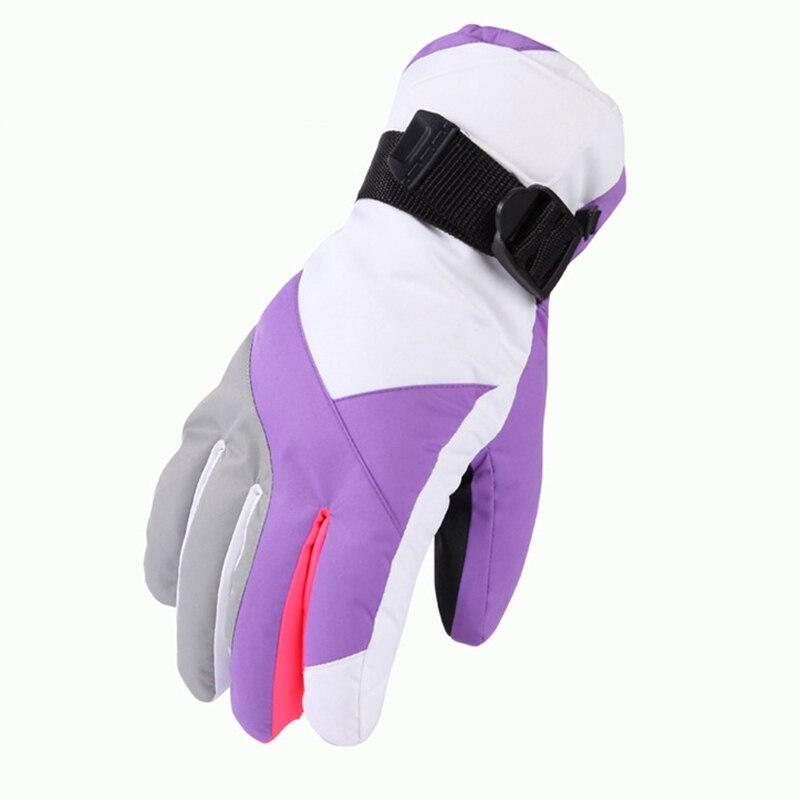 Luvas de Esqui Equitação ao ar Feminino Inverno Quente Impermeável Engrossado Livre Esportes Luvas Whshopping