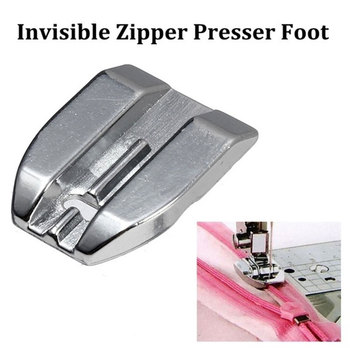 Invisible Zipper Foot for Household Sewing machine Concealed Domestic Sew Machine Accessories sewing tool