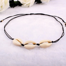 2019 New Seashell Beach Tassel Shell Necklace For Women Bohemian Necklaces Jewelry