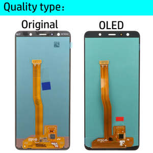 Image 3 - 6.0 Super AMOLED LCD For Samsung Galaxy A7 2018 A750 SM A750F A750F Display With Touch Screen Assembly Replacement Part
