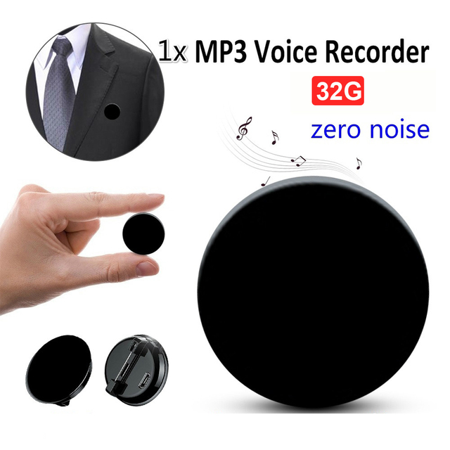 Voice Recorder Professional HD Noise Reduction HIFI MP3 Player Digital Audio Recorder 68H Standby