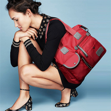Anti thief Casual Nylon Shoulder Bag 2019 New Ladies Fashion Waterproof Oxford Tote Bag Mummy Bag Large Capacity Canvas Travel