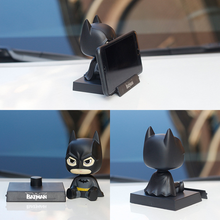 Batman spider man Groot car ornament shake head doll captain America car interior decorations car accessories