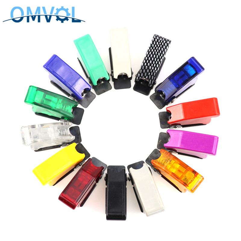 12mm Toggle Switch Cover Dustproof Toggle Switch Waterproof Boot Plastic Safety Flip Cover Cap