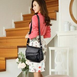 Image 3 - Hot Winter Style Bag Leather Luxury Handbags Women Bags Designer Women Shoulder Messenger Bags For Women 2020 Sac A Main Femme