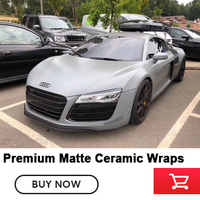 Newest products High grade Ceramic gray vinyl wrap vinilo coche car vinyl Air Release Quality assurance 5 years