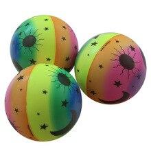 Быстро упругий 6. 3 см цвета радуги мяч для снятия стресса полиуретановый мяч-антистресс вспененный Детский образовательный спонж вентилируемый Бал настраиваемый