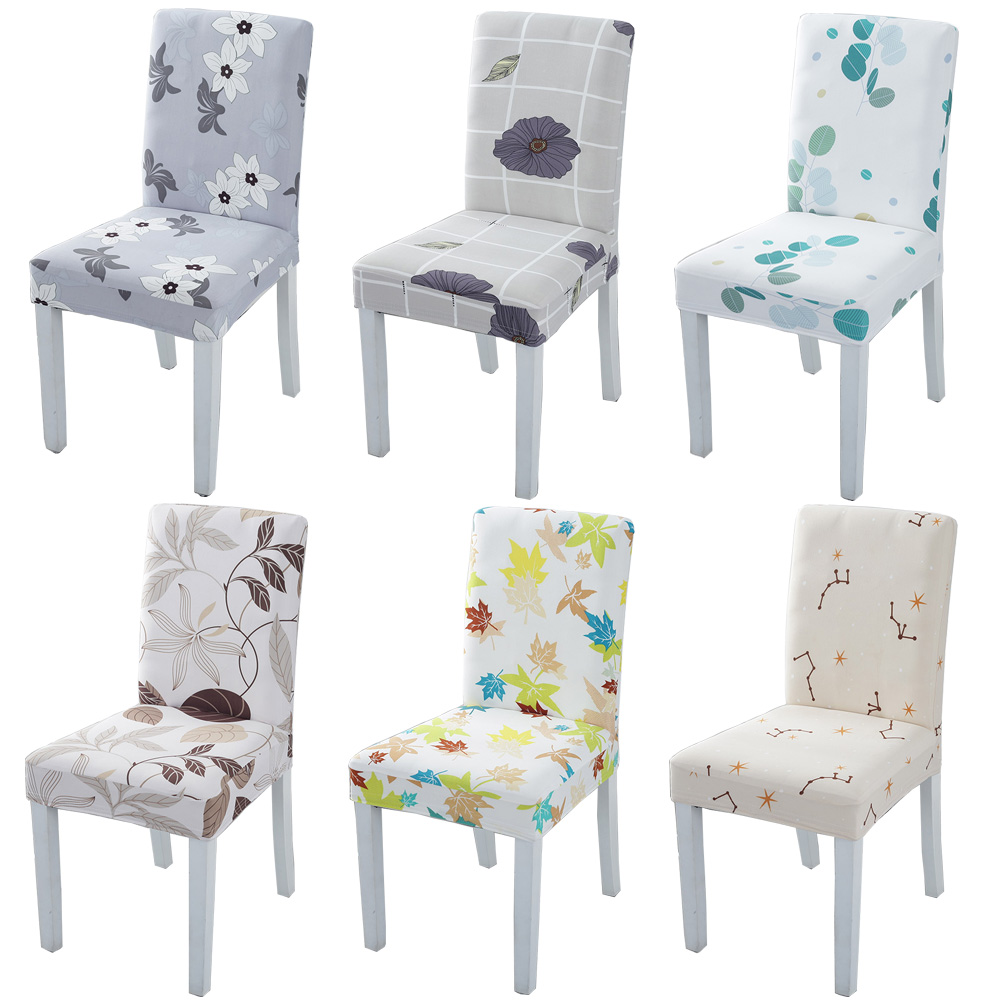 Накидка на стул из спандекса эластичное покрытие декоративное покрытие стула столовая съемная для свадьбы кухня офис для ресторанов и