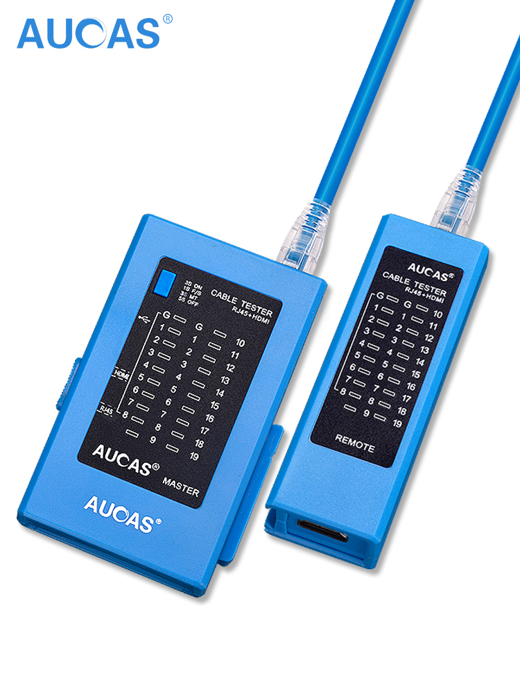 AUCAS Professional Network Cable Tester rj45  LAN Ethernet  Cable Tester tool LAN Networking Tool network Repair  instruments