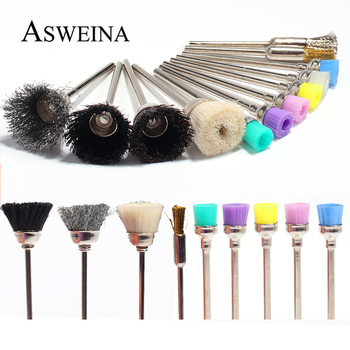 1pcs Nail Drill Brush Metal Rotary Manicure Electric Drills Tools Copper Wire Cleaning Nail Art Accessories tanie i dobre opinie Asweina STAINLESS STEEL Nail Drill Bit Brush 3 32 Electric Nail Drill Machine As the picture Nails Accessoires Manicure Pedicure Tool