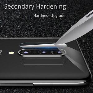 Image 5 - 4w1 szkło hartowane dla Huawei P inteligentny ochraniacz ekranu dla Huawei P inteligentny 2018 pełna pokrywa PSmart Z Y5P Y6P Y8S ochraniacz kamery