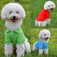 Pet-Clothing Hoodies Puppy-Outfit Dog Small Candy for Warm-Costume Solid-Color