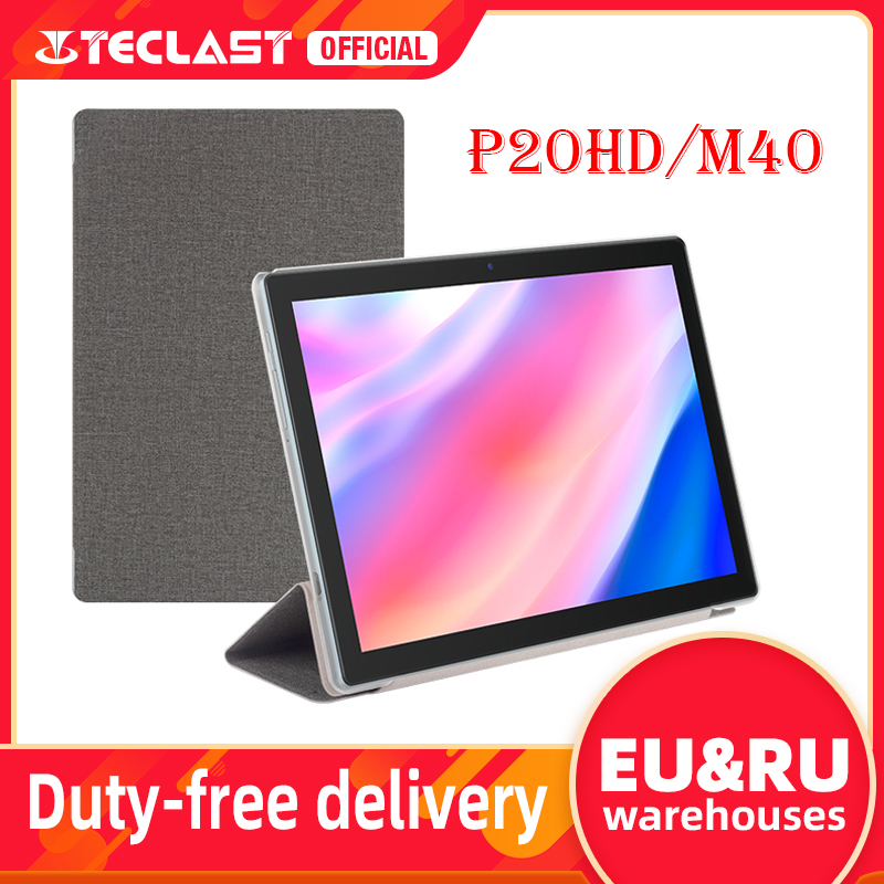 Original Teclast Tablet case For P20HD M40 Tablet Protective cover case 10.1 inch PU