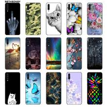 Case Telepon Lembut Silicone Ponsel Case PENUTUP UNTUK Samsung Note 3 4 5 6 7 8 9 10 Pro A7 2018 A10 A40 A50 A70 J7 2018(China)