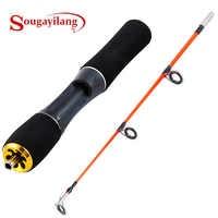 Sougayilang Ultralight Winter Ice Fishing Rod Portable Winter Ice Fishing Rod Spinning Casting Ice Winter Fishing Pole Tackle
