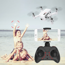 RC Helicopter Foldable Mini Drone with HD Camera Keep Hight Quad-Counter Fun Remote Control Quadcopter Toys Gift for Kids folding drone with hd camera phone app radio remote control helicopter quadcopter toys for children
