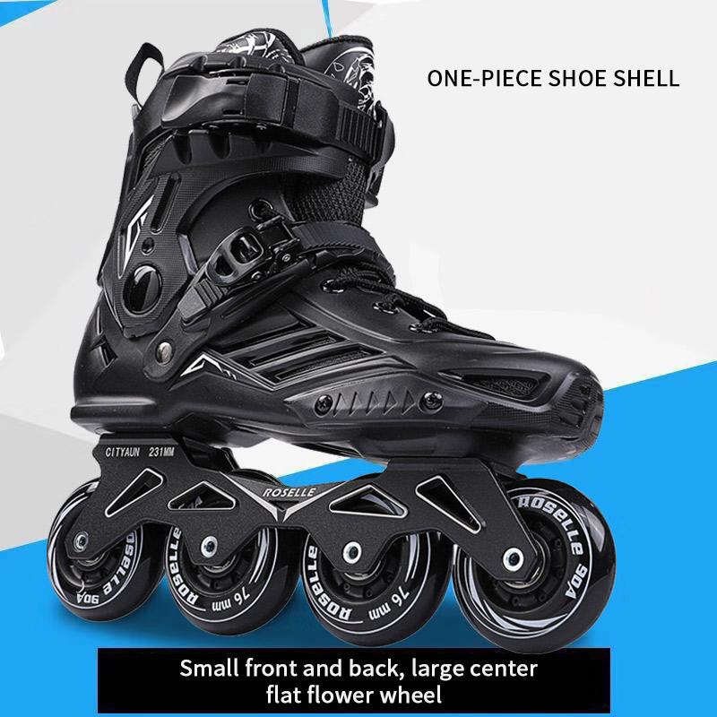 Women's Men's Adult Skates Inline Skates, Roller Skates, Sports Shoes, Roller Skates, Single Row Skates For Beginners