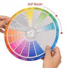 Tattoo Accesories Palette Paper-Chart Chromatography Salon Round-Wheel Nail-Color Mix-Guide