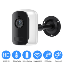 Rechargeable Battery IP Camera Wifi 1080P HD Outdoor Indoor Wireless Security Surveillance Camera Two Way Audio PIR Sensor Wide