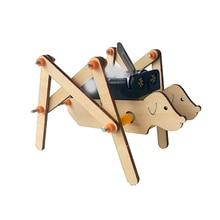 Kids Arts And Crafts Craft Set Toys For Children Diy Kindergarten Model Stuff Wooden Toddler  Robot Dog Boy Toy