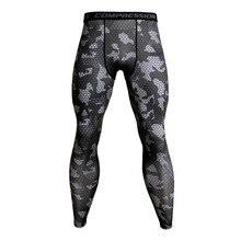 Camouflage Compression Pants Running Tights Men Soccer Training Pants Fitness Sport Leggings Men Gym Jogging Trousers Sportswear недорого