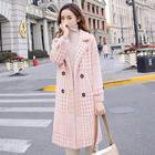 Fashion Plaid Wool C...