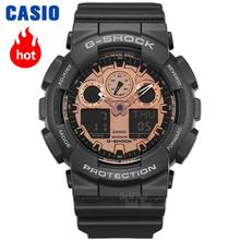 Casio watch Fashion camouflage waterproof resin sports men watch GA-100CF-1A GA-100CF-8A GA-100CB-1A GA-100C-8A цена