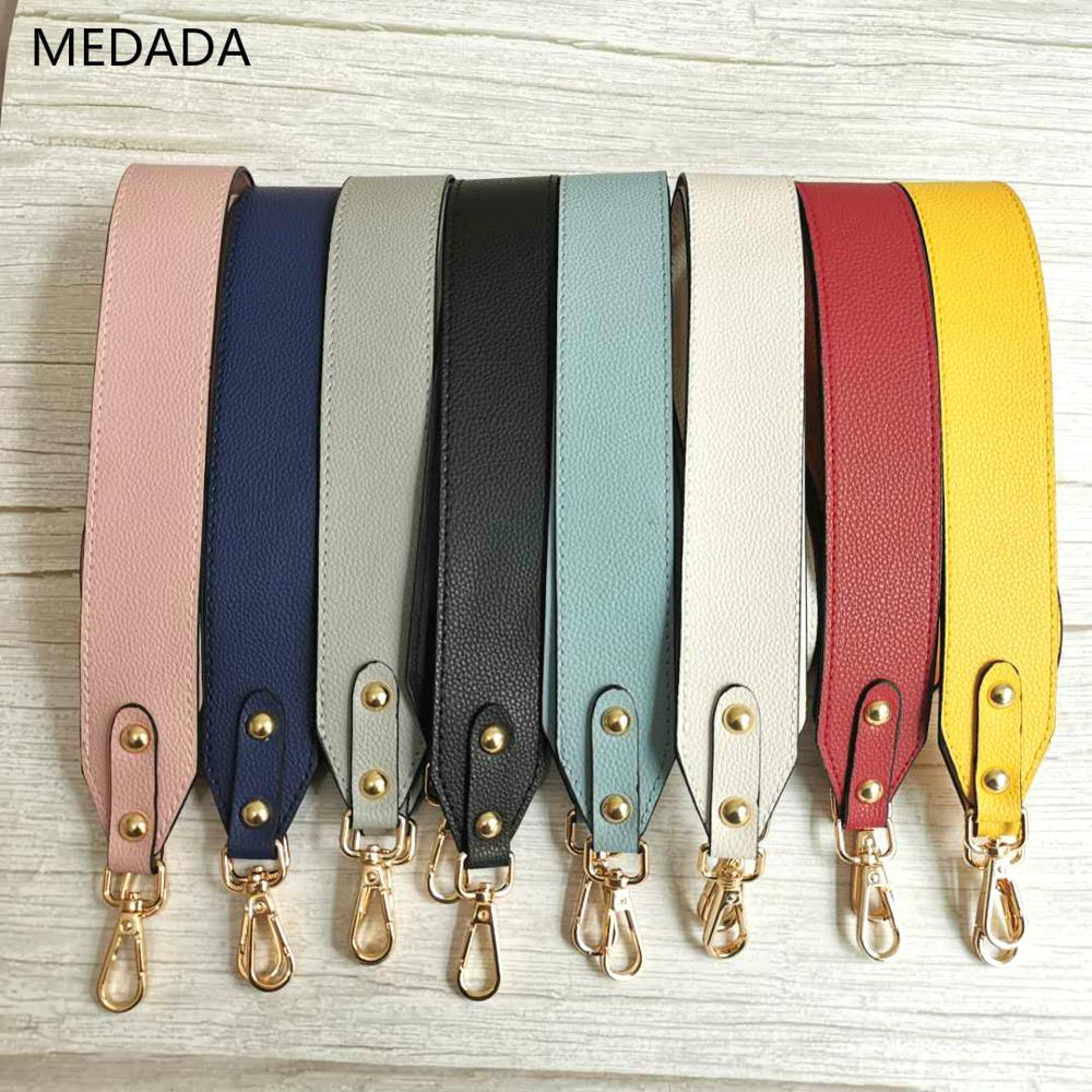 The New Shoulder Belt Strap Women Belt Bag  Pu Material Wide Bag Strap 4cm  Can Replace The Shoulder Strap Accessories