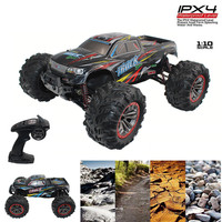 XINLEHONG TOYS 9125 RC Car 4WD 2.4GHz 1:10 46km/h Racing Cars Supersonic Monster Truck Off Road Toys RC Buggy Toy RC Desert Car